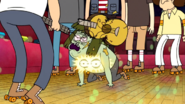 S4E06.182 Muscle Man Gets Hit By A Guitar