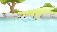 S4E12.165 A Dog in the Pond