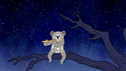 S6E13.077 Koala Playing the Flute