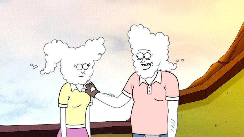 Margaret Regular Show Anime