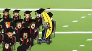 S7E36.185 Rigby Heading Towards the Graduates