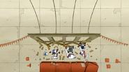 S5E13.094 Crashing Into Wooden Panels 3