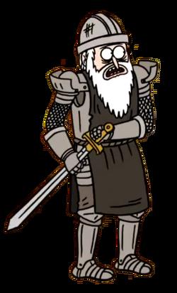 Eggscellent Knight