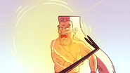 S4E13.272 Grand Master Blocking Mordecai's Kick