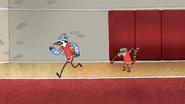 S5E15.17 Rigby Hitting Mordecai