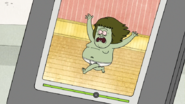 S6E02.019 Muscle Man Running in His Underwear