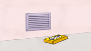 S3E34.026 The Best VHS in the World Tape Thrown Near the Vent
