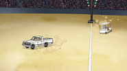 S4E24.108 The Pickup Truck Spinning Out of Control