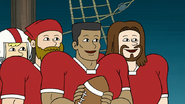 S8E07.047 The '76 Starting Lineup of the Oklahoma Mud Pigeon