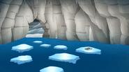 S8E20.154 Ice Tape Heading Towards the Hole