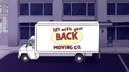 S6E06.083 Lift With Your Back Moving Co. Truck
