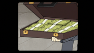 S8E25.077 Briefcase of Cash