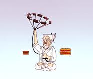 S4E13.243 Grand Master Swinging an Electric Razor