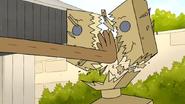 S7E06.151 Rigby Smashing the Board Dummy