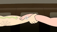 S7E13.083 Matching Skull Tattoo Pair