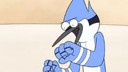 S4E24.021 Mordecai Imitating Doing a Donut