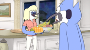 S6E01.105 Mordecai's Mom with Backup Dessert