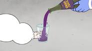 S6E09.195 Mordecai Pouring Skips Grape Juice