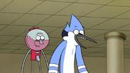 S6E21.207 Mordecai and Benson are Happy Party Horse Caught the Pencil Sharpener
