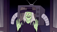 S7E09.354 Chocolate Witch Wearing Rigby's Costume