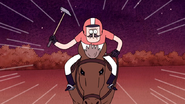 S4E31.140 Horse Polo Player Incoming