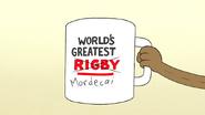 S7E06.054 World's Greatest Mordecai Mug
