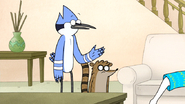 S6E21.027 Mordecai Asking Who Party Horse Is