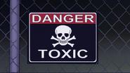 S7E31.111 Danger Toxic Sign