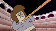 S8E27P1.143 Muscle Man Pulling a Rope