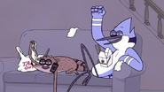 S7E11.037 Mordecai and Rigby Chanting All Nighter!