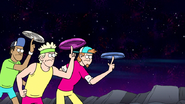 S8E19.102 Flying-Disc Freestylers Reappear
