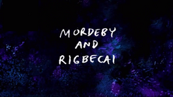 Mordeby and Rigbecai Title Card HD