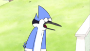 S03E16.015 Mordecai Sarcasticly Laughs
