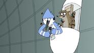 S7E05.395 Mordecai Activates the Knockout Dart Mode