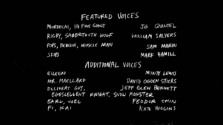 S8E20 The Ice Tape Credits