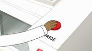S7E29.119 Rigby Pressing the Override Button