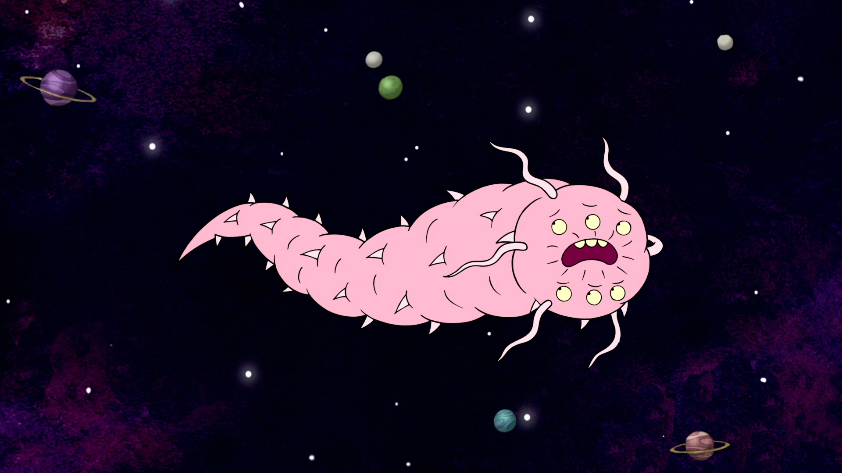 Image result for space worm