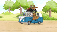 S6E12.156 The Park Managers Landing Their ATV on Skips' Van