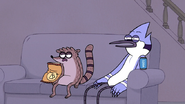S7E11.017 Mordecai and Rigby Waking Up to the Next Morales and MacCreedy Marathon