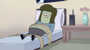 S4E35.042 Muscle Man Tied To His Bed