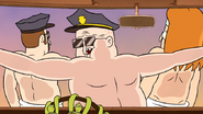 S6E15.239 Officer Hank Saw What the Turtle Did Their