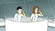 S7E05.384 Two Scientists Shooting Knockout Darts
