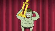S05E11Muscle Man wins bodybuilding comp