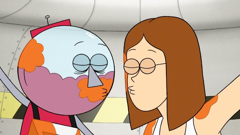 Regular Show Mordecai And Margaret Kiss