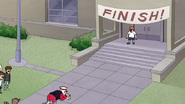 S7E21.281 Rigby and Jablonski Heading Towards the Finish Line 02