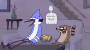 S4E34.022 Mordecai, Rigby, and Hi-Five Laughing