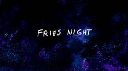 S8E09 Fries Night Title Card
