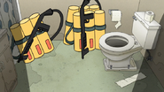 S8E19.379 Flamethrowers in the Bathroom