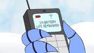 S5E07.065 1 Percent Battery Life Remaining