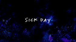 Sh07 Sick Day Title Card